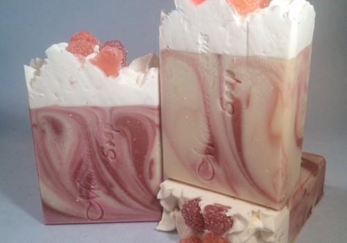 Black Raspberry Vanilla Cocoa Butter Soap