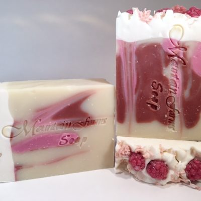 Black-Raspberry-Vanilla-Soap by Mountain Farms Soap