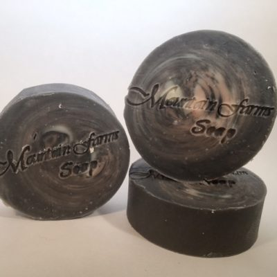 Charcoal-and-Neem-Soap by Mountain Farms Soap