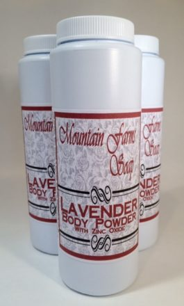 Lavender-Zinc-Powder by Mountain Farms Soap
