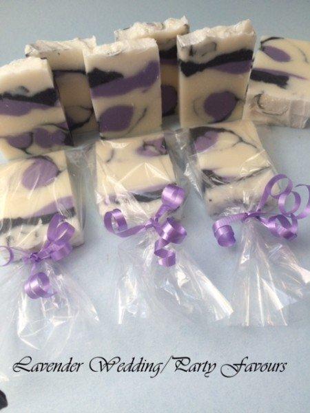 Custom Made Soap Favors 2