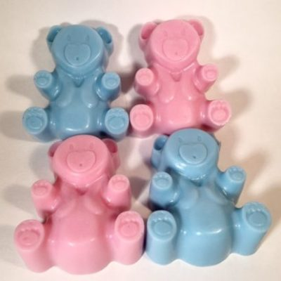 Teddy Bear Party Favors/Guest Bars by Mountain Farms Soap