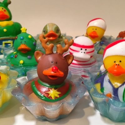 Rubber-Ducky-Soaps by Mountain Farms Soap