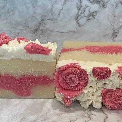 Fresh Rose Soap by Mountain Farms Soap