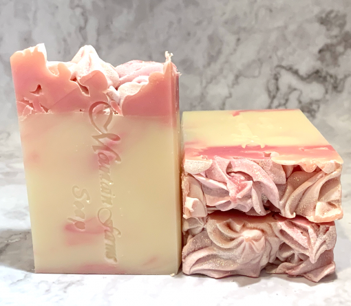 Pink Berry Mimosa Soap by Mountain Farms Soap