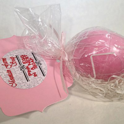 Pink-Egg-Soap by Mountain Farms Soap