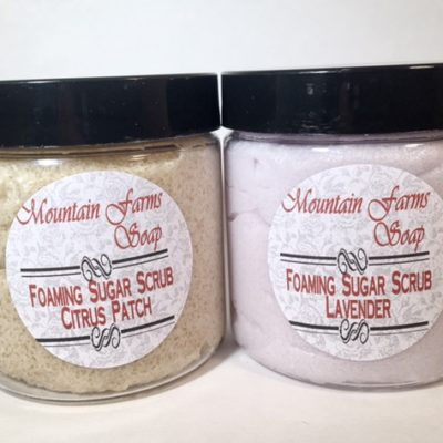 Foaming-Sugar-Scrub by Mountain Farms Soap