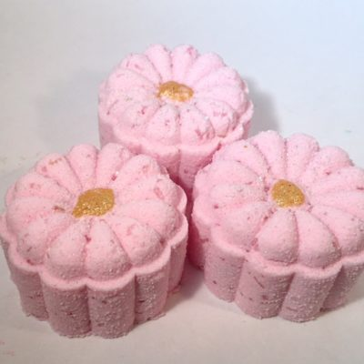 Pink-Berry-Bath-Bomb-Flower by Mountain Farms Soap