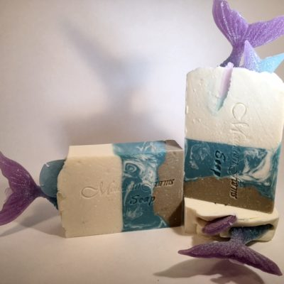 Mermaid-Tail-Soap by Mountain Farms Soap