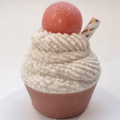 Peach-Bellini-Mini-Cupcake-Soap by Mountain Farms Soap