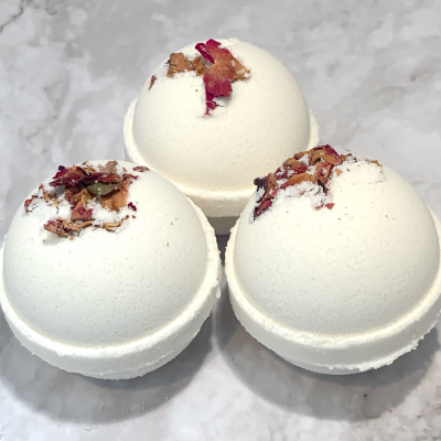 Rose Bath Bomb by Mountain Farms Soap