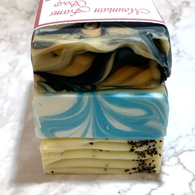 Soap Bundle 3 Pack by Mountain Farms Soap
