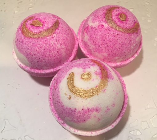 Black-Raspberry-Vanilla-Bath-Bombs-by Mountain Farms Soap