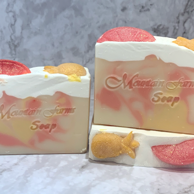 Pineapple Mango Soap by Mountain Farms Soap