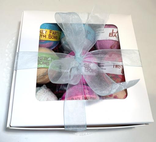 Bath Bomb Gift Set 9 Pac by Mountain Farms Soap