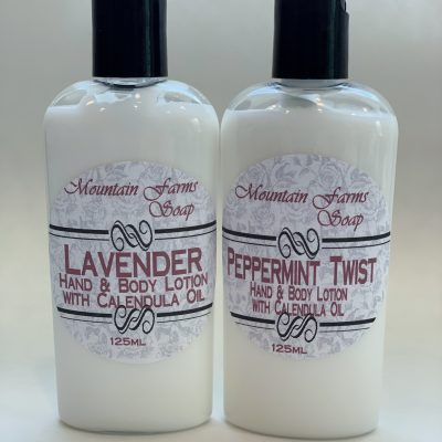 Hand and Body Lotion by Mountain Farms Soap
