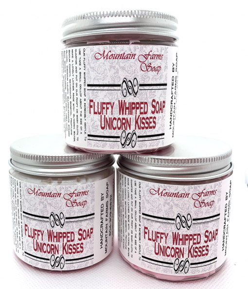 Whipped-Soap-Unicorn-Kisses-by-Mountain Farms Soap