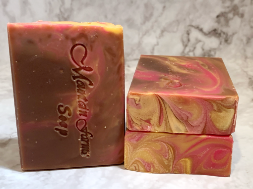Crackling Firewood Soap by Mountain Farms Soap