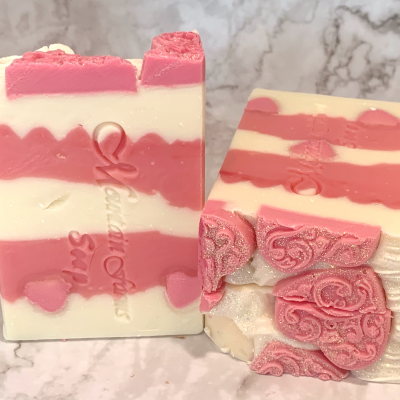 Queen of Hearts Soap by Mountain Farms Soap