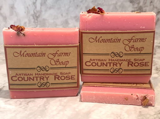 Country Rose Soaps by Mountain Farms Soap