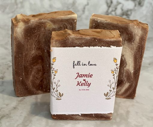 Fall in Love Wedding Favor by Mountain Farms Soap