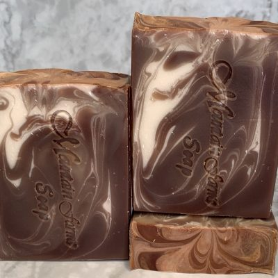 White Cedar and Sandalwood Soap by Mountain Farms Soap